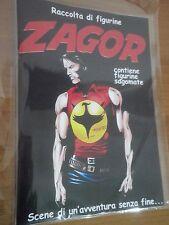 ZAGOR Album + Set completo figurine Adesive Fustellate no n 1 zenith