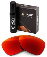 Polarized IKON Replacement Lenses For Ray Ban Boyfriend RB4147 60MM - Red Mirror