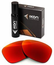 Polarized IKON Iridium Replacement Lenses For Oakley Dispatch 2 + Red Mirror