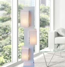 White Modern Contemporary Floor lamp ZK002L lighting for  living room bedroom