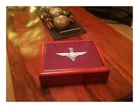Parachute Regiment Premium Military Medals and Memorabilia Box, Great Gift