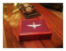 Parachute Regiment Premium Military Medals and Memorabilia Box, Great Gift