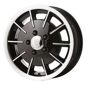 "Porsche Gas Burner style alloy wheel. 15"" 5.5"" 5x130, 45mm off set."