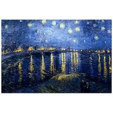 Van Gogh, Starry Night over the Rhone Deco FRIDGE MAGNET, 1888 Fine Art Repro