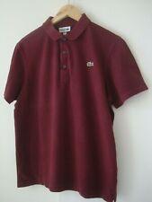 "Mens LACOSTE Polo Shirt Size 5 / L  (40"" Chest)"