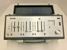 Vintage Sony Mx-12 6 Channel Stereo Microphone / Instrument Mixer Mint