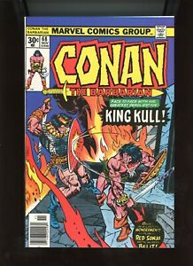 """1976 Marvel, """" Conan The Barbarian """" # 68, Red Sonja, NM, BX72"""