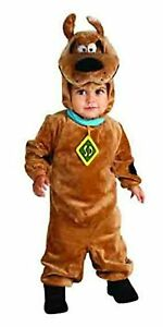Scooby-Doo Cuddly Brown Dog Cartoon Fancy Dress Up Halloween Baby Child Costume