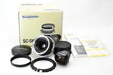 *Top Mint in Box* Voigtlander SC SKOPAR 25mm f/4 with Viewfinder for Nikon #N708