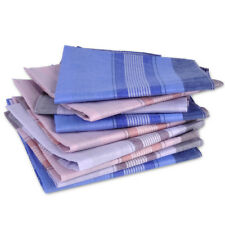 Herren-Taschentücher Taschentuch im 12er-Pack Baumwolle Stofftaschentücher