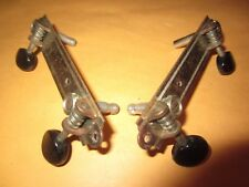 Vintage 1940's Tenor Guitar Tuners Tuning Machines Set of [2] 2-on-a-side