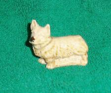 Wade figurines Whimsies set # 2 1972  Corgi  tan with black nose