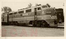 7J125 RP 1952 CI&L MONON RAILROAD ENGINE #84B