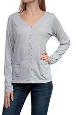 Klassische Damenblusen,-Shirts mit V-Ausschnitt und Baumwolle