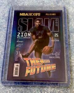2020-2021 Panini NBA Hoops Zion Williamson Slam Cover Holo Foil