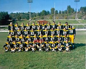 PITTSBURGH STEELERS 1966 SUPER RARE COLOR 8X10 TEAM  PHOTO VERY NICE