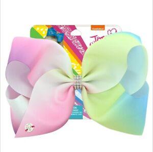 "BRAND NEW Jojo Siwa Large 8"" Hair Bow Girls Hair Accessories"