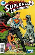 Superman Unchained #2 1:50 Victor Ibanez Bronze Age Variant Comic Book DC