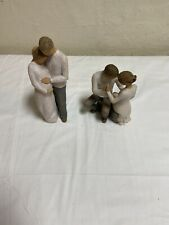 Willow Tree Home two figurines