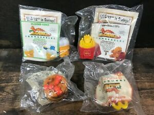 Vintage McDonalds Transformer CHANGEABLES McDino Lot of 4 Happy Meal Toys