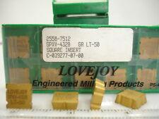 SPXV 432 B LT-50 Lovejoy Carbide Inserts (9pcs)1367