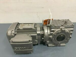 New SEW Eurodrive SA47 DRS71M4 83RPM Output Gearmotor 230/460V 60Hz 3/4HP