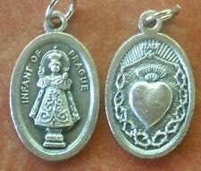 INFANT JESUS of PRAGUE MEDAL + Immaculate Heart of Mary