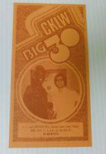 CKLW Big 30 Detroit Windsor Music Chart April 29 1975 Roger Whittaker Leo Sayer