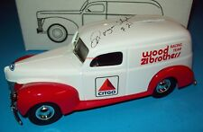 Citgo Wood Brothers 1940 Ford Panel Van Bank Morgan Shepherd Signed 1/25 Ertl
