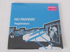 """REGISTRATORS No Fantasy DOUBLE 7"""" JAPAN WAVEFORM RECORDS rare UNPLAYED"""