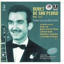 BONET DE SAN PEDRO TODAS SUS GRABACIONES Vol.1,2- 3CD
