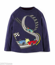 Mini Boden Boys' Crew Neck Other T-Shirts, Tops & Shirts (2-16 Years)