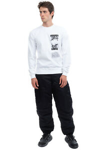 RRP €400 DRKSHDW By RICK OWENS Sweatshirt Size S Printed Front Made in Italy
