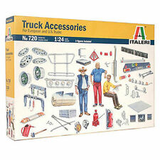 Italeri Truck Accessories Zubehör LKW Truck 1:24 Bausatz Model Kit Art 720