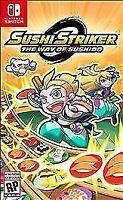 Sushi Striker: The Way of Sushido (Nintendo Switch, 2018) Brand New Sealed