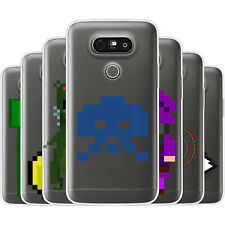 Dessana Pixel Pattern TPU Silicone Protective Cover Phone Case Cover For LG