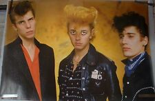 RARE STRAY CATS 1981 VINTAGE ORIGINAL MUSIC POSTER