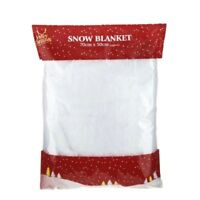Snow Blanket Christmas Decoration Artificial Fake Snow Roll Xmas Gift 70cm x50cm