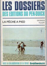 la pêche à pied  par Georges Fleury dossiers Pen-Duick,marée espèces