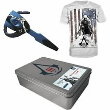 PS3 Collector Gift Box Assassin's Creed 3 Headset Auricolare Bluetooth + T-Shirt