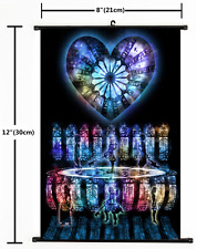 Japanese Anime Kingdom Hearts Home Decor Poster Wall Scroll 2035