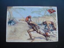 ORIGINAL WW2 POSTCARD ARAB BATALLION SOMALIA / AXIS POWERS
