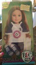 """18"""" BFC Ink Doll Clothes SOCCER STYLE Shoes clothing 4 pc"""