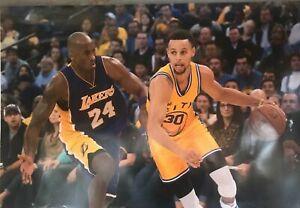 Stephen Curry & Kobe Bryant NBA Game Poster 24 x 36
