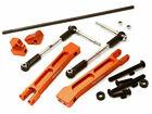 Integy Aluminum Rear Sway Bar Anti-Roll Stabilizer Set for Traxxas X-Maxx 4X4
