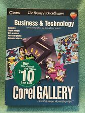 Corel Gallery Business & Technology PC CD clip art, web graphics and more (New)