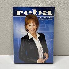 Reba DVD Box Set Collector's Edition Complete Season 3 (2004, 3 Disc Set)