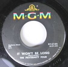 Rock 45 The Fraternity Four - It Won'T Be Long / If I Loved You On Mgm