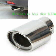 2019 Universal Chrome Stainless Steel Auto Car Exhaust Pipes Tail Muffler Tip