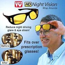 HD Vision Wraparound Driving Anti Glare Night Vision Glasses for Men & Women